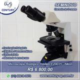 Microscópio E200 Halogênio – Nikon