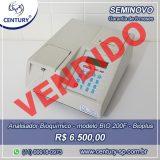 Analisador Semiautomático para Bioquímica modelo BIO 200F marca Bioplus